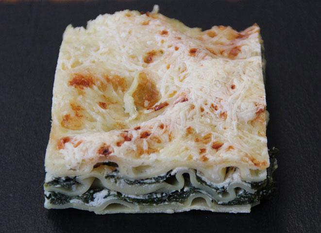 lasagnes greuil épinards